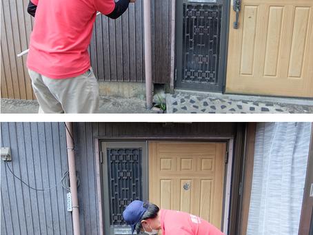 安城市新田町で害虫ブロックを施工してきました