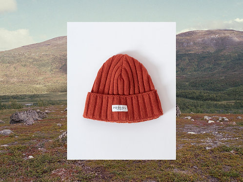 Orange Soil Beanie
