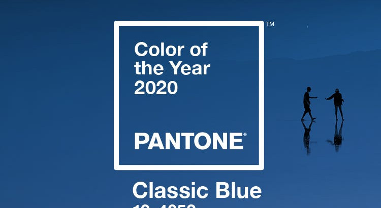 Timeless Blue - Pantone Colour of the Year 2020