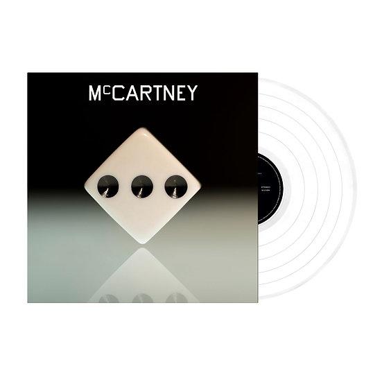 """Paul McCartney """"McCartney III"""" Indie Exclusive White Vinyl LP"""