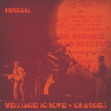 "Jimi Hendrix ""Message To Love (Live)"" / ""Changes (Live)"""