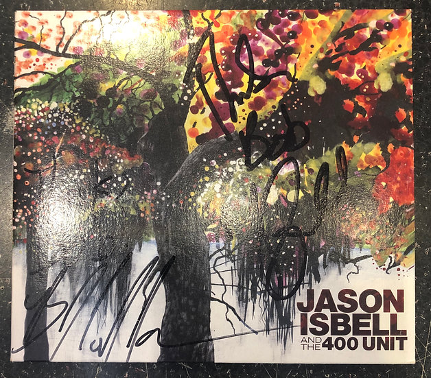 AUTOGRAPHED CD: Jason Isbell & The 400 Unit