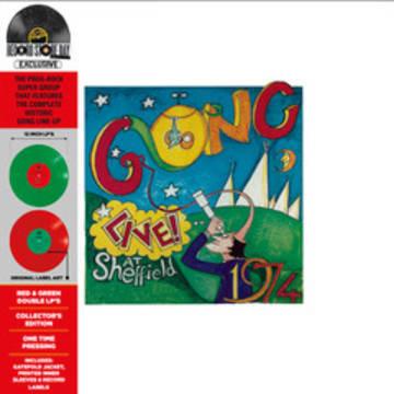 "Gong ""Live! at Sheffield 1974"""