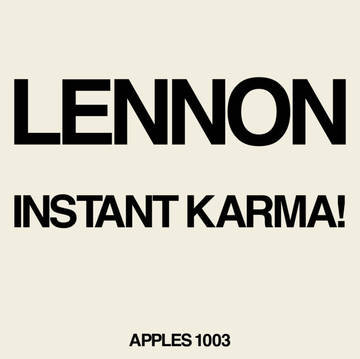 "Lennon/Ono With The Plastic Ono Band ""Instant Karma! (2020 Ultimate Mixes)"""