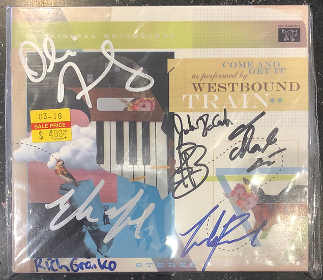 """AUTOGRAPHED CD: Westbound Train """"Come & Get It"""""""
