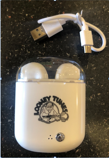 Looney Tunes Rechargeable Bluetooth Earbuds
