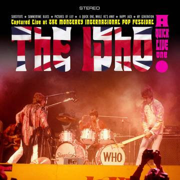 "The Who ""A Quick Live One"""