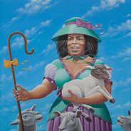 The Good Shepherd Oil on Canvas