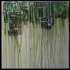 Beyond Graffiti  Green  36 x 36.jpg