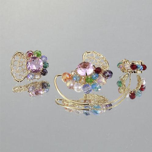 Brincos Mon Petit Ear Cuf-Ouro-Color
