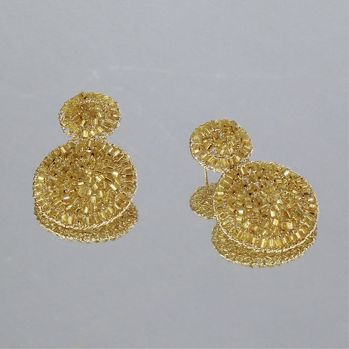Brincos Paok-Ouro-Citrino
