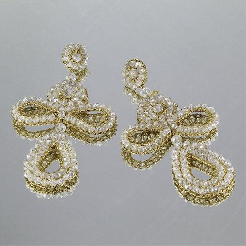 Brincos Belge-Ouro-Cristal
