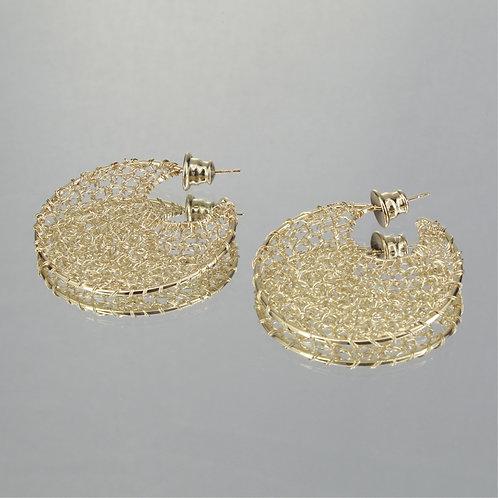 Brincos Esferas-Ouro