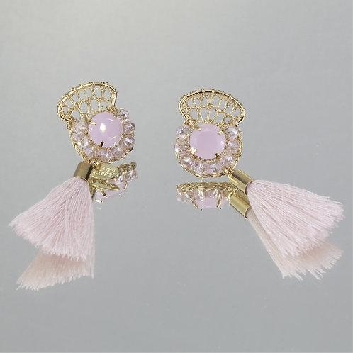 Brincos Mon Petit-Ouro-Rosa