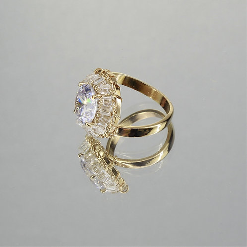 Anel Grace-Ouro-Cristal