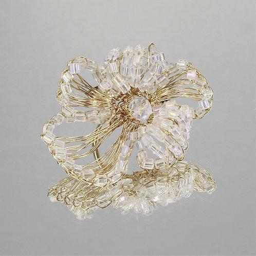 Anel Alisson-Ouro-Cristal