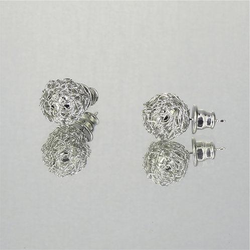 Brincos Golden Balls-Ródio