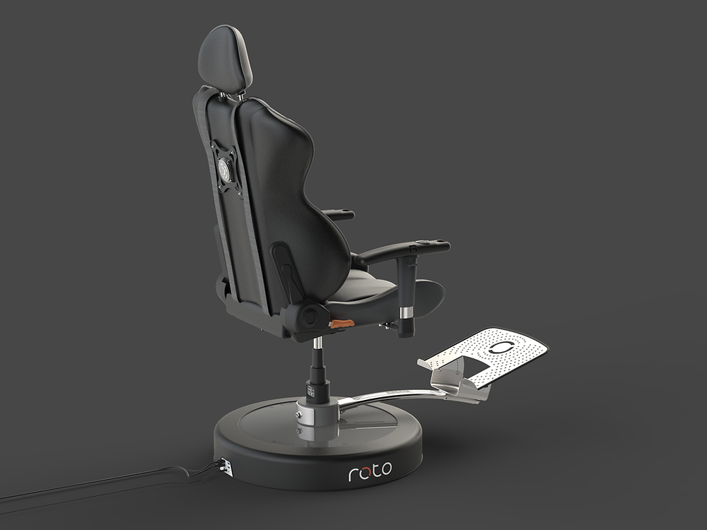 Roto VR Chair Racing Rack