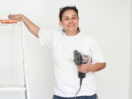 Leila Ouadah,  la fille de maçon qui a fondé une entreprise artisanale dans le bâtiment