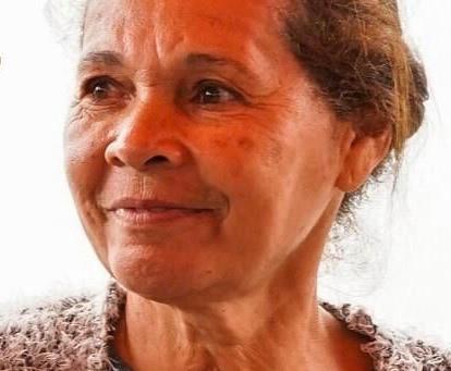 Lia, leader communautaire de la favela verte Vila Nova Esperança