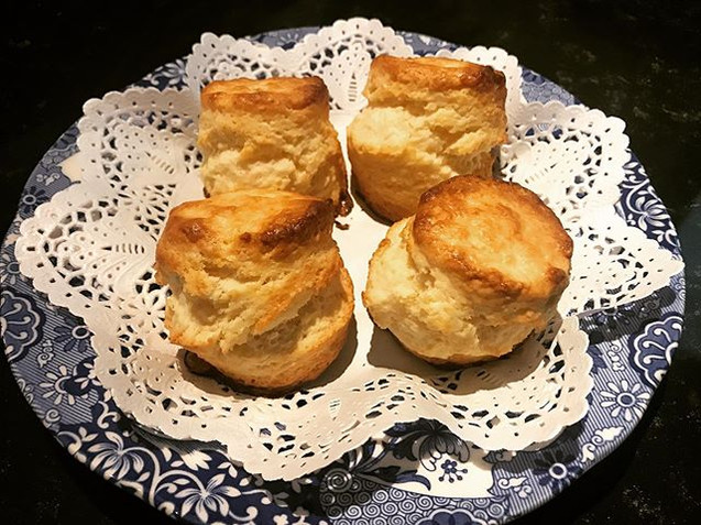 Homemade scone