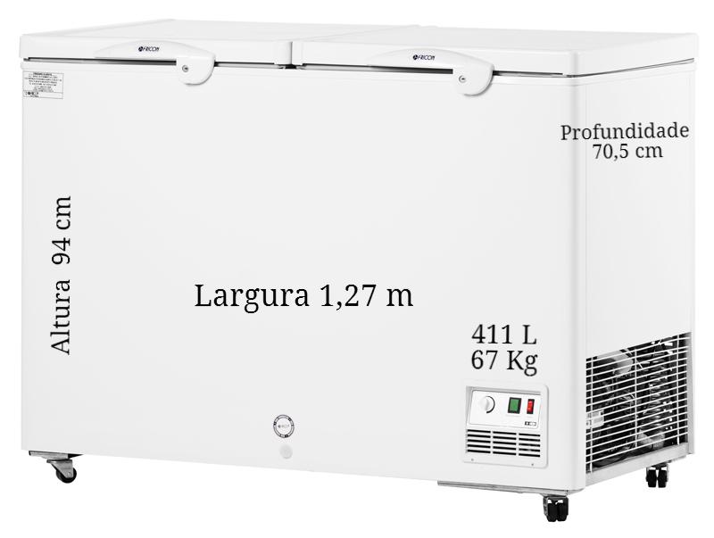 Freezer 411 L  - Fricon