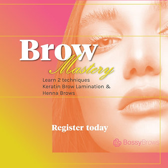 LIVE Brow Mastery Workshop