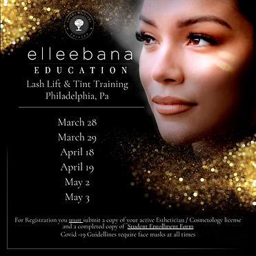 Lash Lift & Tint Training Philadelphia,