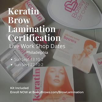 Keratin Brow Lamination Certification.pn
