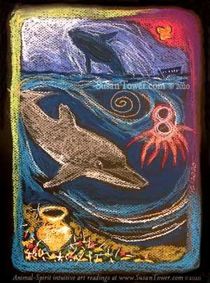 AnimalSpiritArt-Dolphin-UnderseaJewels-b