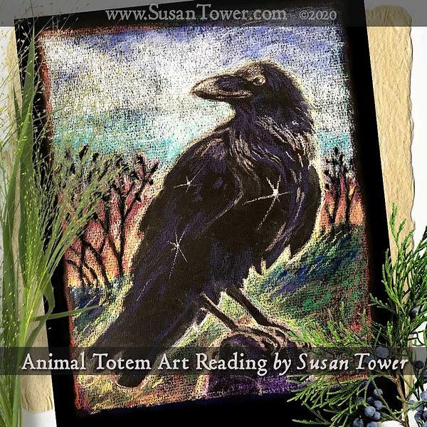 Animal-Totem-Reading-Crow-spirit-animal-