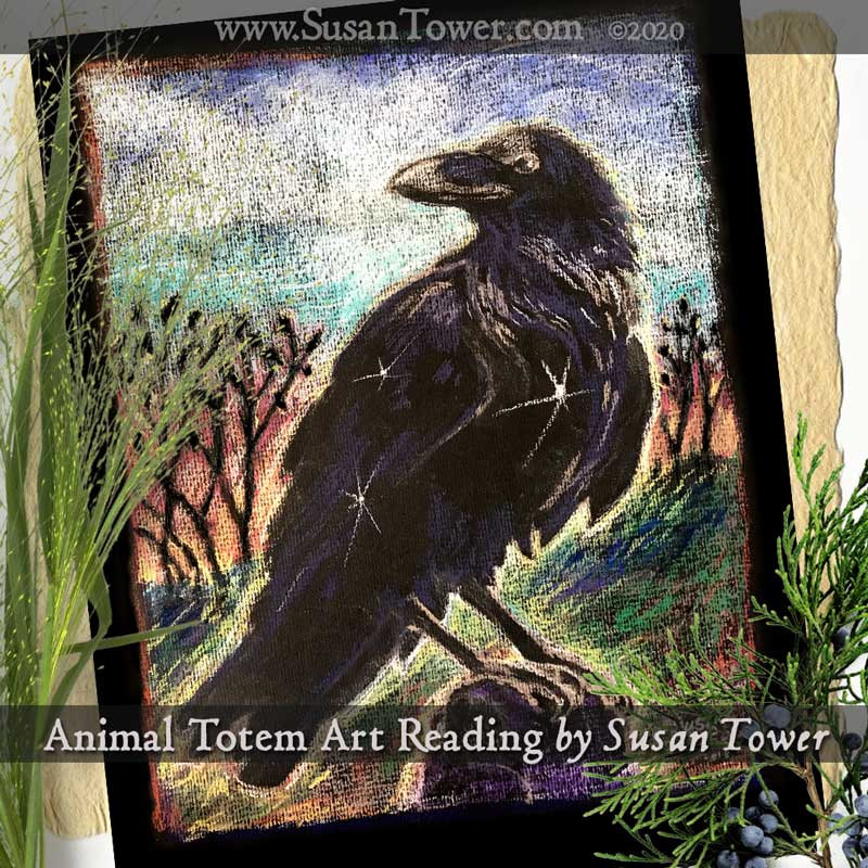 Animal Totem Art Reading - pastels