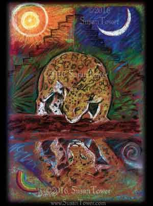 IR_SoulPainting-MayanJaguarReflection-Su
