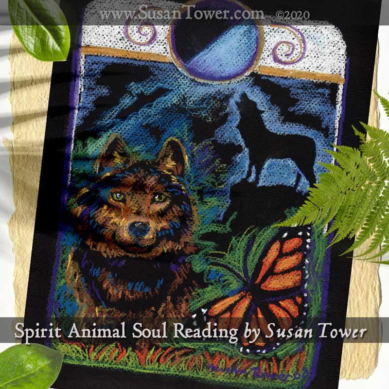 Spirit Animal Soul Reading - pastels