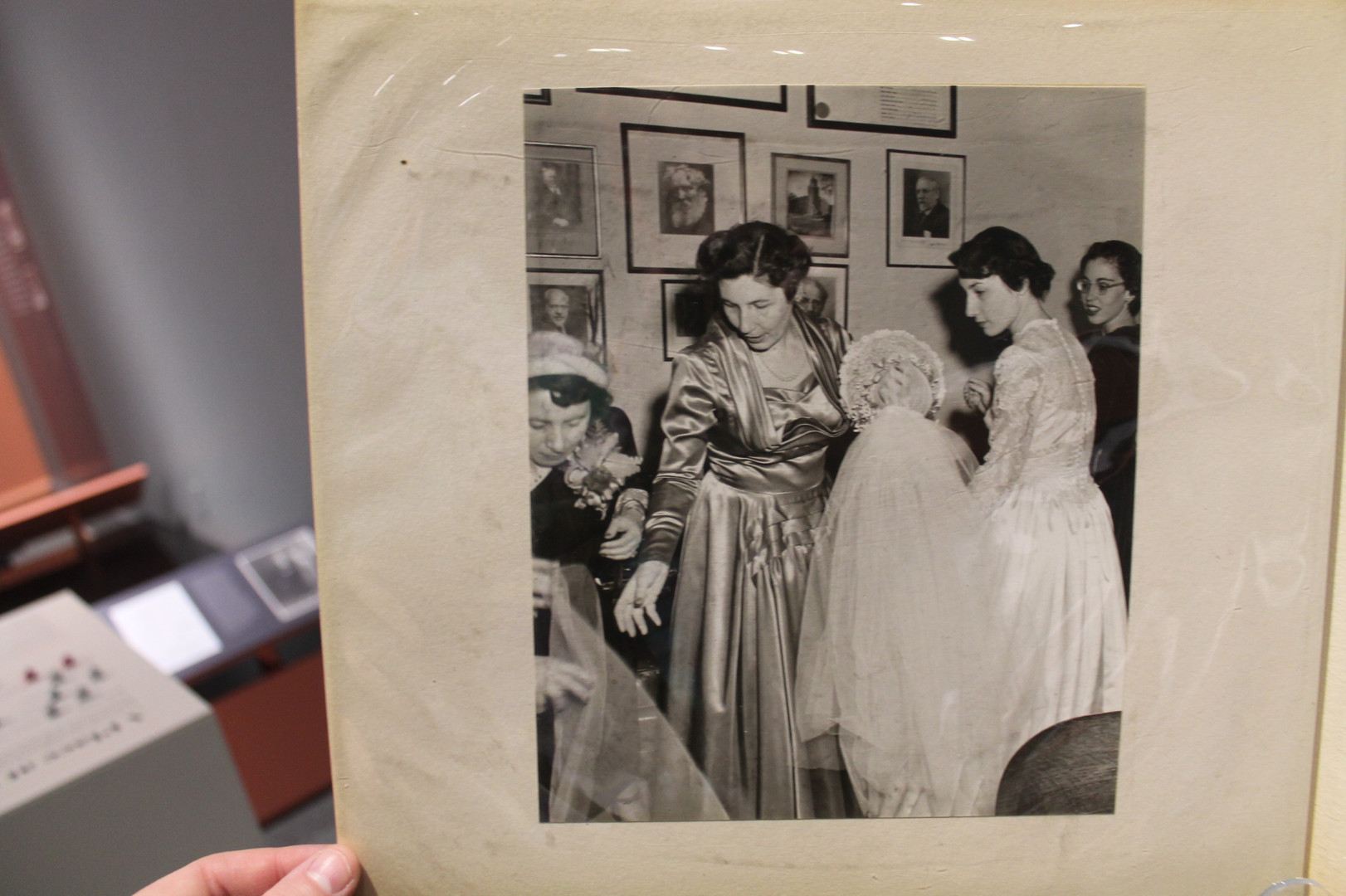 Wedding album, Gift of Efrem M. Potts. JMM 1995.192.11