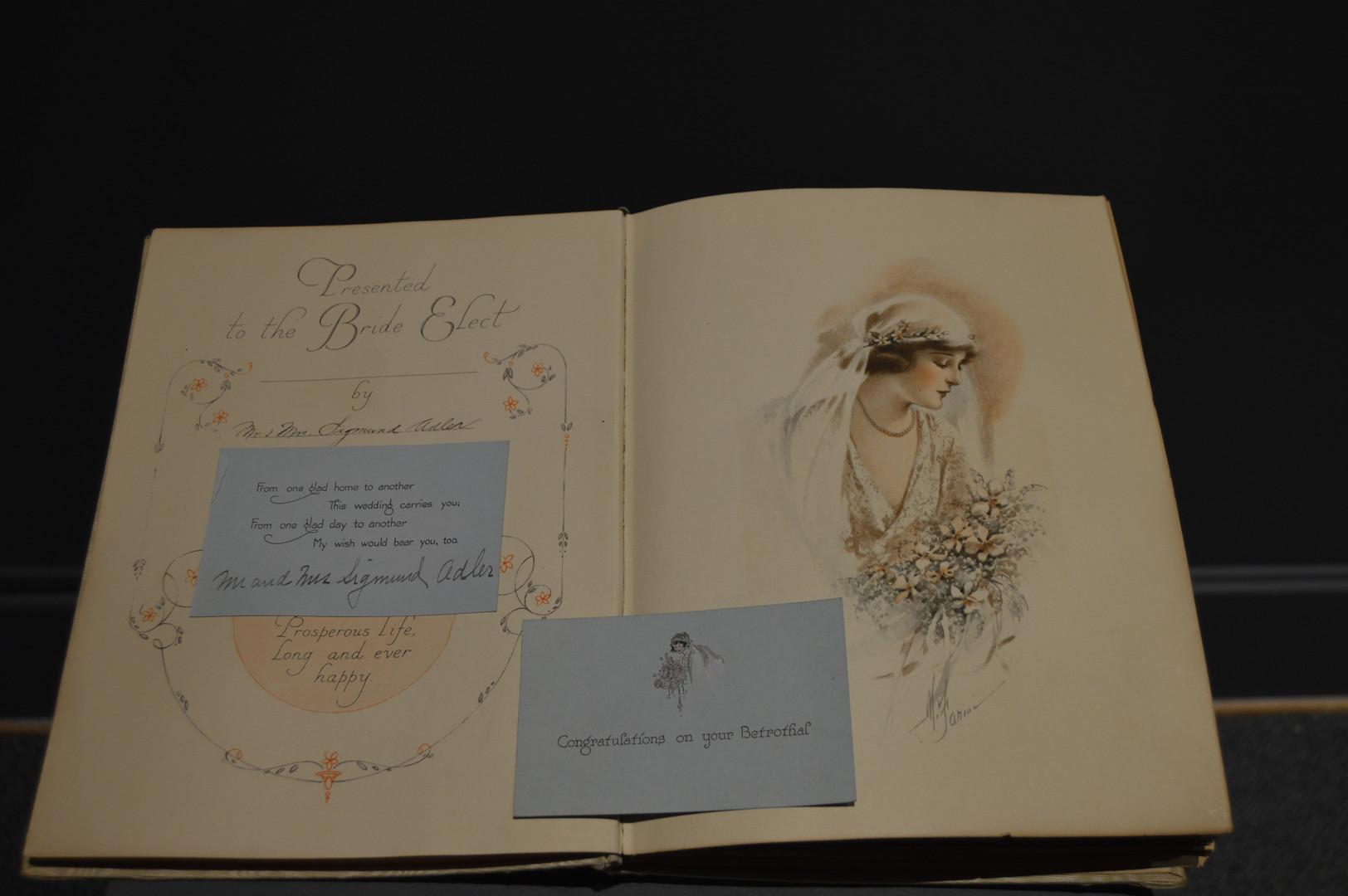Wedding Memories, Gift of Amalie Adler Ascher. JMM 1989.167.4b