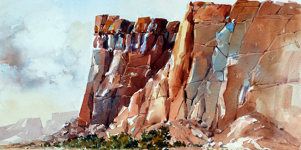 Carl Purcell: Plein Air Watercolor Workshop