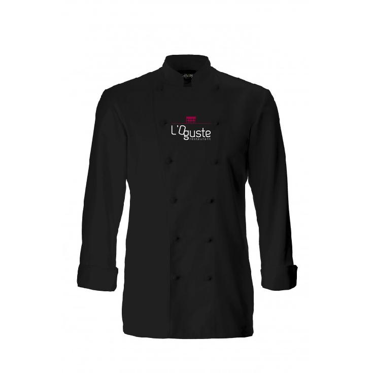 veste broderie L'OGUSTE restaurant
