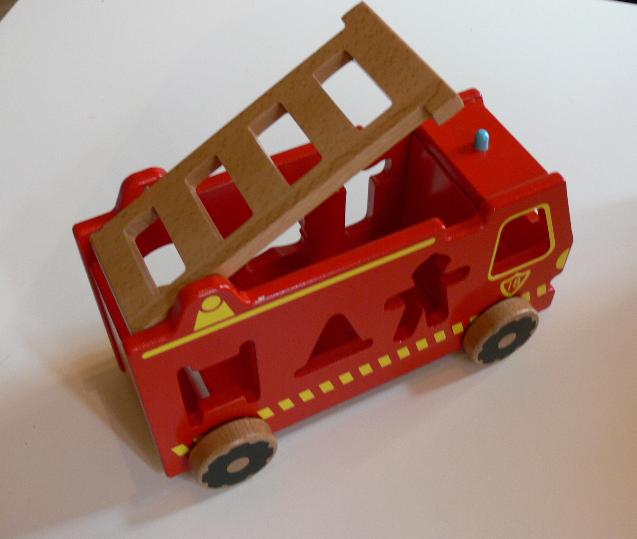 camion encastrable POMPIER