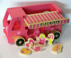 camion encastrable FLEURISTE