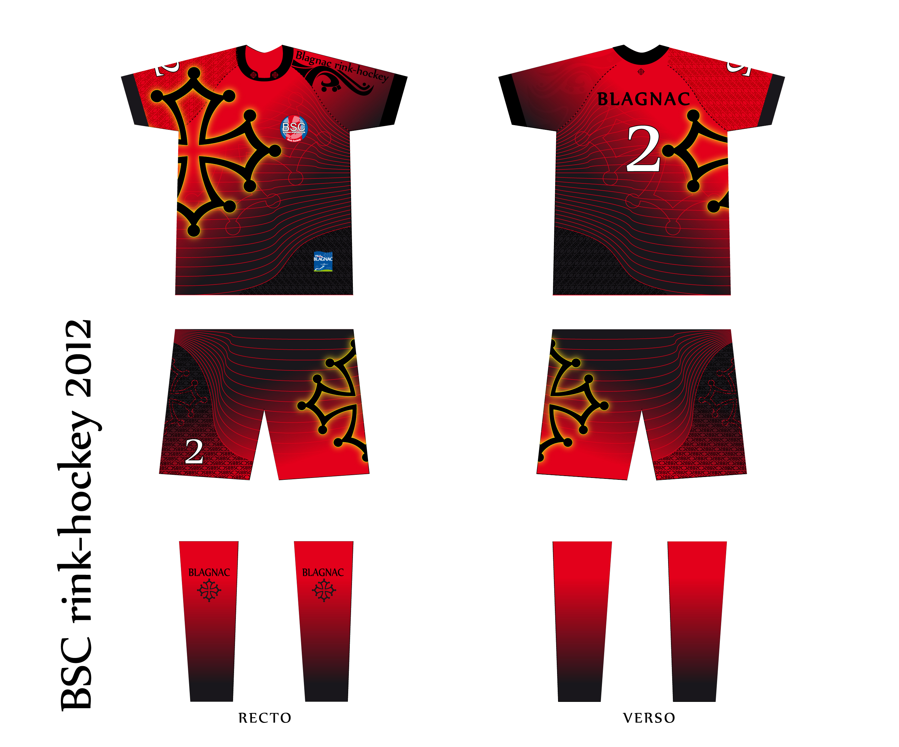 Graphisme maillot sport