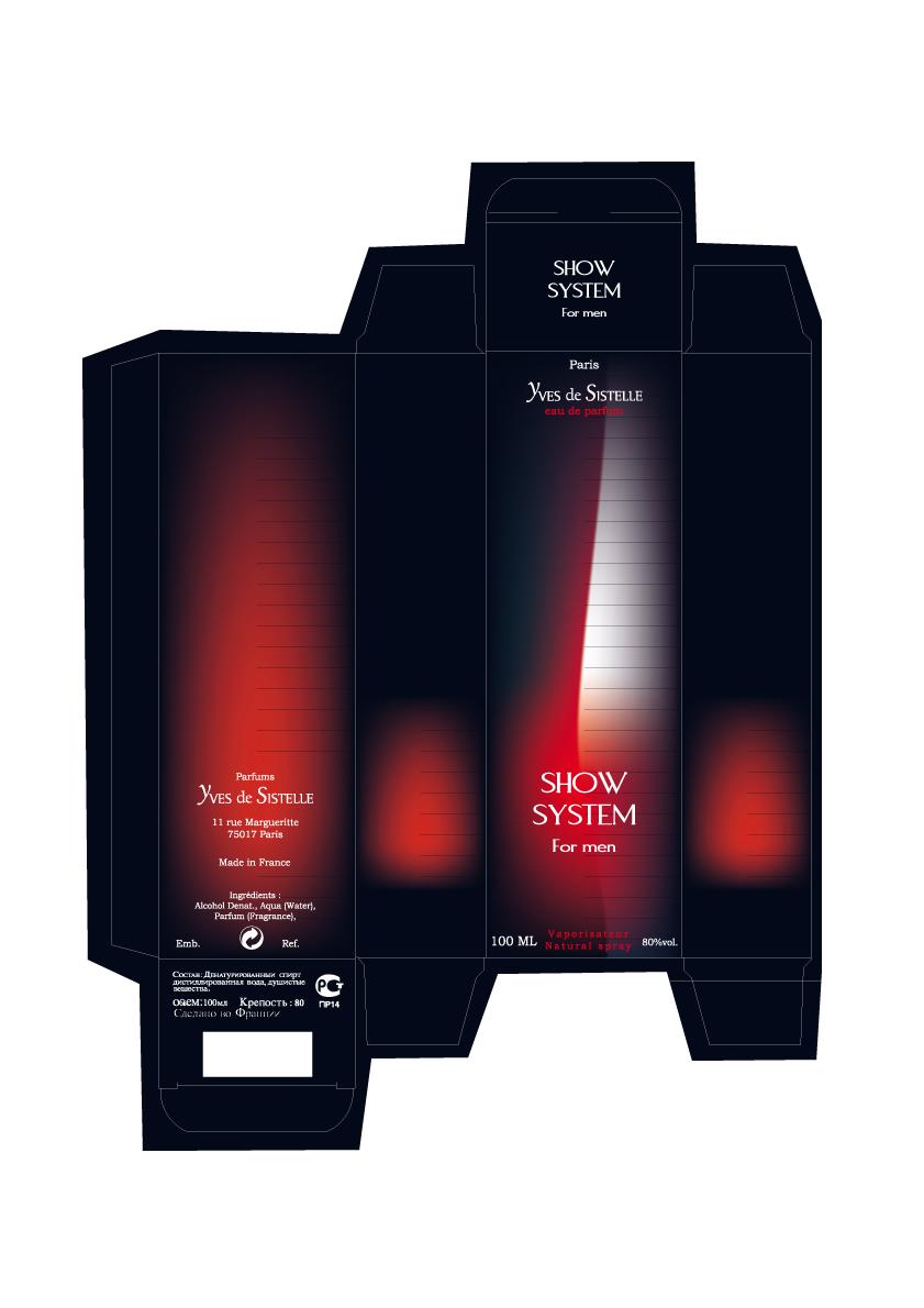 étui de parfum SHOW SYSTEM