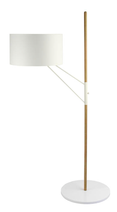 lampadaire ZOE blanc