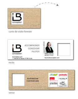 carte visite Laurence