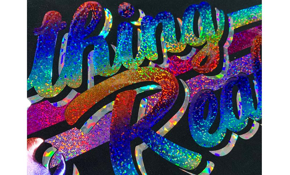 HTV hologram-lettring