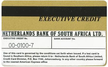 Conceptual Art Credit Card Medium Manipulation Sculpture American Express 1960s 1970s  Netherlands Bank of South Africa NEDBANK