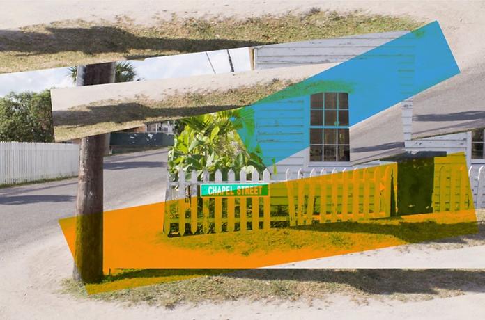 Chapel Street Harbor Island Photoshop digital art