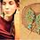 "Thumbnail: Ohrringe ""Jalu"" Türkis -Light Creme-"