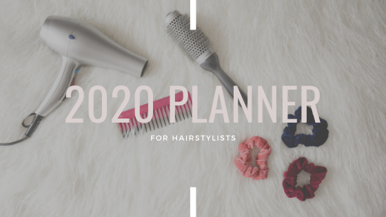IG 2020 Planner for Hairstylists