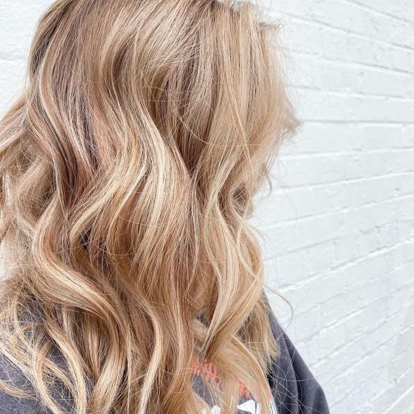 blonde cascade